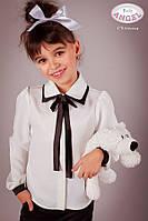 Блузка атласная с двойным воротником Baby ANGEL