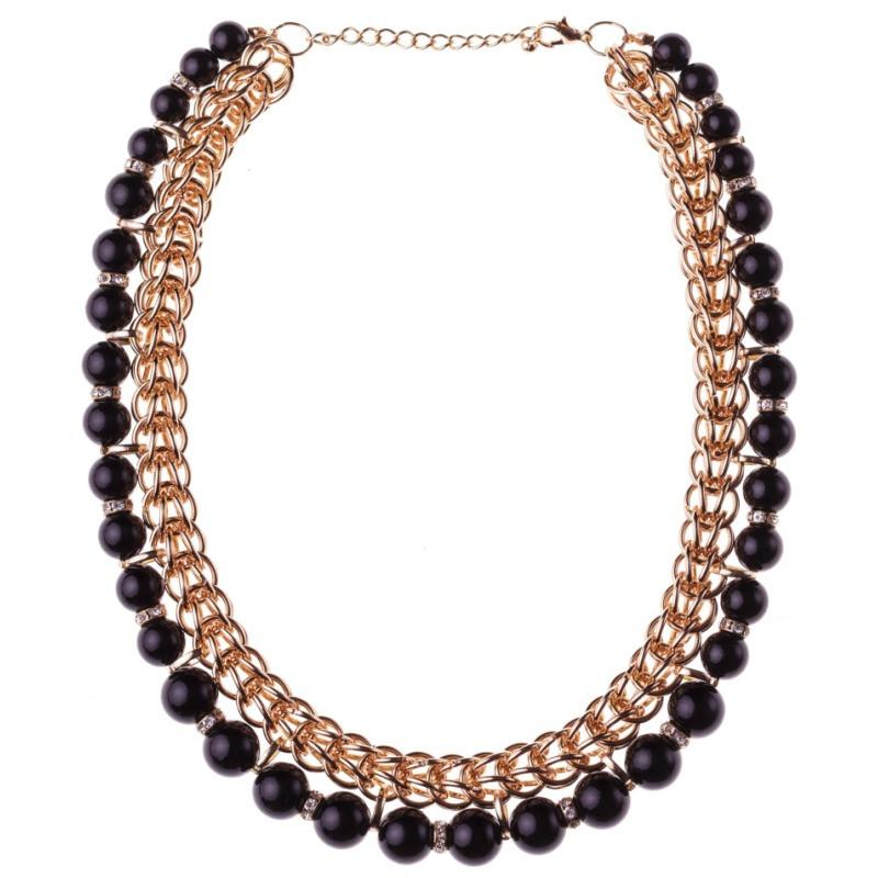 Колье black Pearl