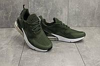 Кроссовки G 5074-3 (Nike AirMax 270) (весна/осень, мужские, текстиль, хаки)