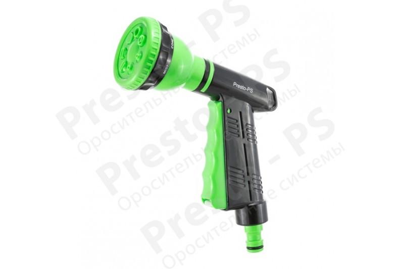 Пистолет поливочный Presto-PS 4442, 7 режимов