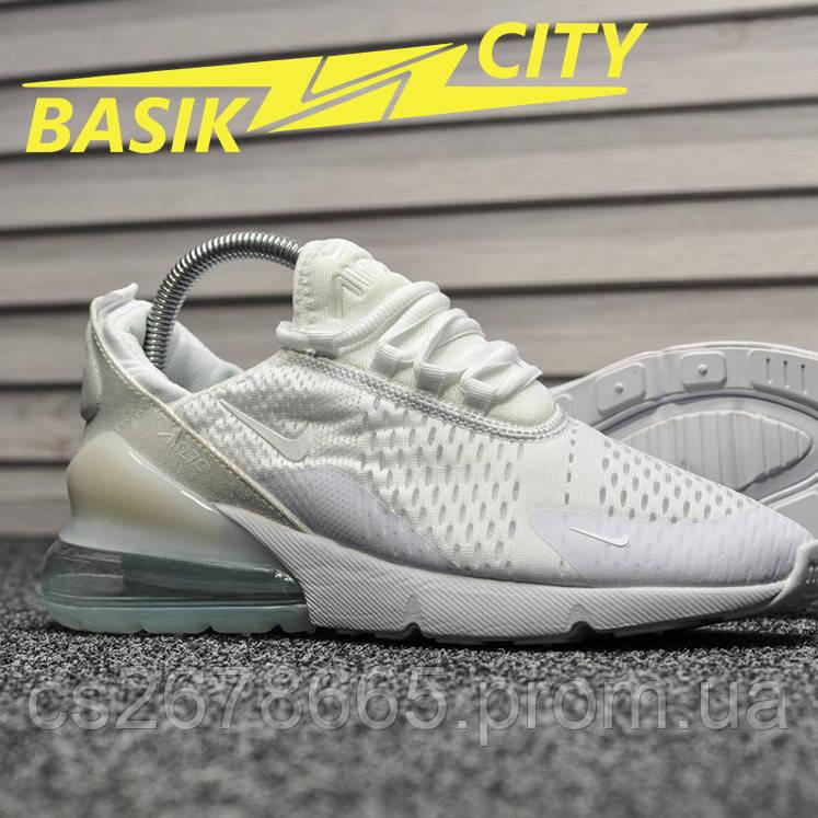 Женские кроссовки Nike Air Max 270 White / Light mint
