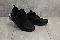Кроссовки G 5074-10 (Nike AirMax 270) (весна/осень, мужские, текстиль, черный)