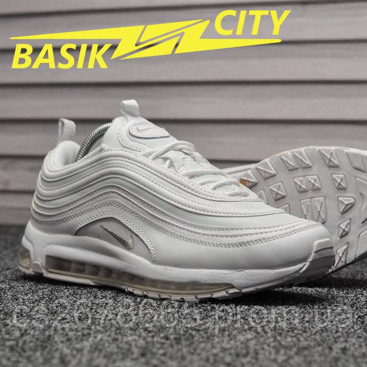 Мужские кроссовки Nike Air Max 97 All White