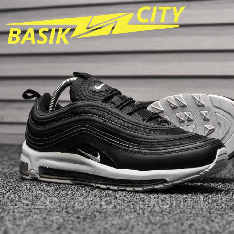 Мужские кроссовки Nike Air Max 97 Black White