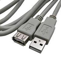 Удлинитель USB (шт.A- гн.А), 1,8метра