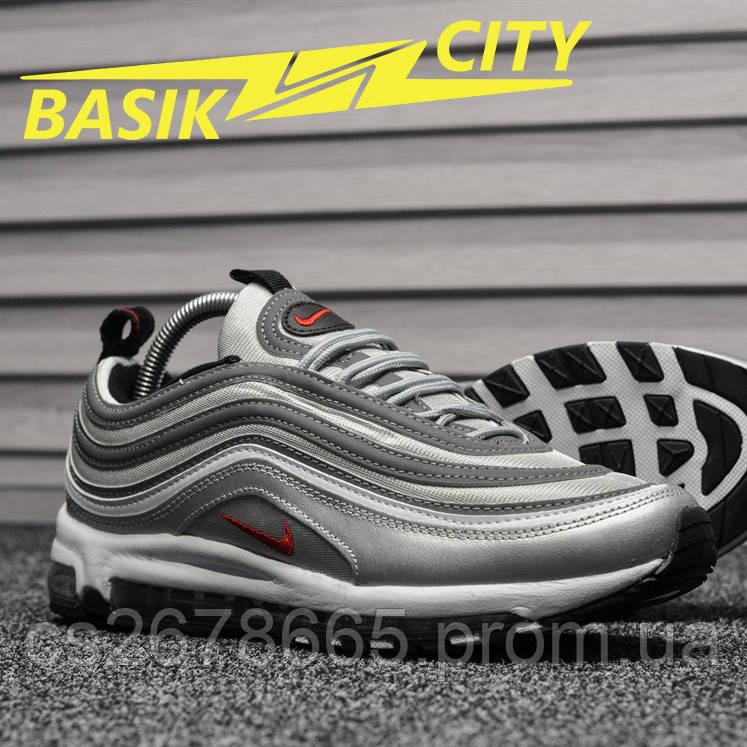 Мужские кроссовки Nike Air Max 97 Silver Bullet