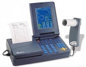 Спірометр МЗС Spirolab III ( багаторазовий турбінний датчик, 100 одноразових мундштуків)