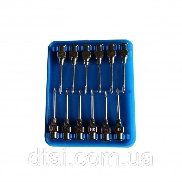 Иглы ветеринарные многоразовые LL 1,6х20 мм, 12 шт/упак