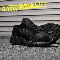 Мужские кроссовки Adidas Yung Triple Black