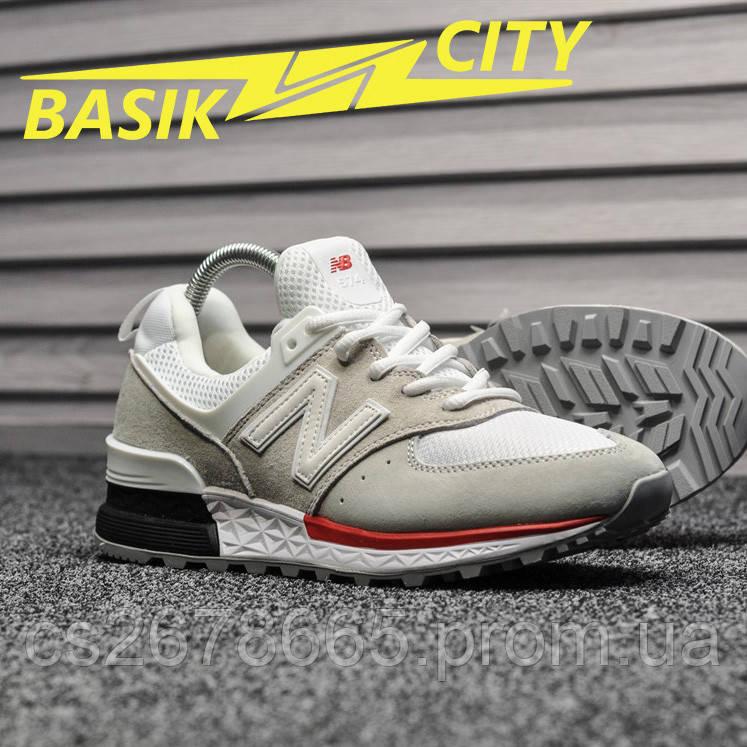 Мужские кроссовки New Balance 574 Sport Gray