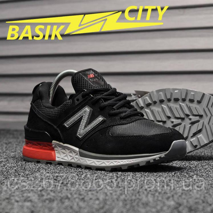 Мужские кроссовки New Balance 574 Sport Black
