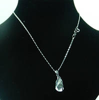 Кулон с крупным кристаллом Swarovski опт. 46