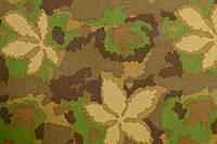 """Ткань камуфлированная ,""""Листья хлопок"""" , Т-6"""