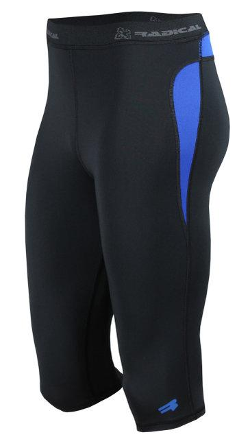 Спортивные женские шорты-тайтсы Radical Rapid 3/4 L Черный