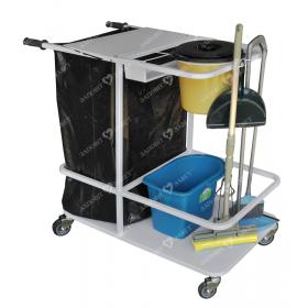 Тележка для уборки помещений (медицинских) Завет ТУП (тележка уборочная)