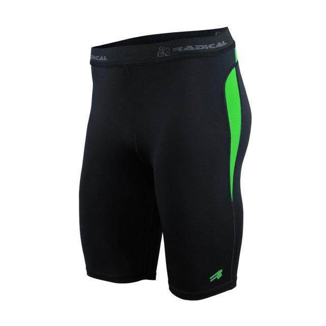 Спортивные мужские шорты-тайтсы Radical Rapid XXL Черный