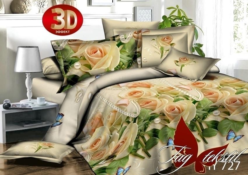 Евро комплект постельного белья XHY727