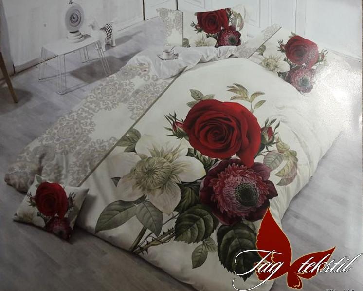 Евро комплект постельного белья MS-CY215