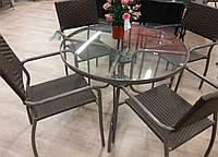 Комплект мебели КАРАМЕЛЬ из искусственного ротанга, фото 1