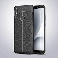 Чехол Touch для Xiaomi Redmi Note 6 Pro бампер оригинальный Auto focus Black