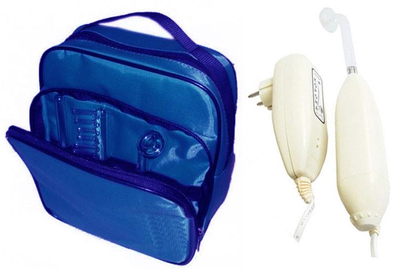 Аппарат дарсонваль Корона 02 в сумке (3 электрода)