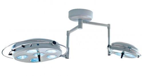 Операционная лампа хирургическая (смотровая бестеневая) L2000 6+3-II-светильник девятирефлекторный потолочный