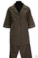 Костюм для обслуживающего персонала, рабочий костюм
