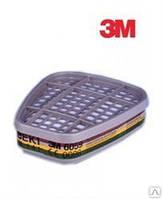 Фильтр для противогаза и респиратора 3М 6059 АВЕК1