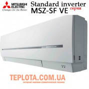 Кондиционер инверторный MITSUBISHI ELECTRIC MSZ-SF25VE - MUZ-SF25VE (серия Standard Inverter)