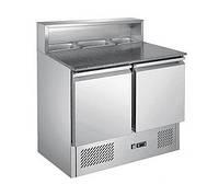 Cтол холодильный с гранитной столешницей PROFI LINE Hendi
