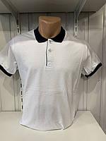 Футболка мужская COLORHAKAN поло комбинированная, размеры M - 3XL,002 \ купить футболку мужскую оптом