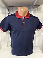 Футболка мужская COLORHAKAN поло комбинированная, размеры M - 3XL,003 \ купить футболку мужскую оптом