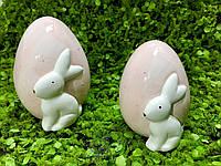 Декоративное яйцо с кроликом 8*10 см, фарфор Dragimex wz1