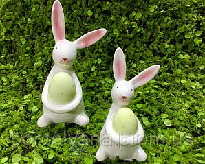 Кролик с яйцом 6*12 см фарфор Dragimex wz3