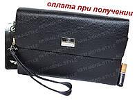 Мужская кожаная натуральная сумка барсетка борсетка клатч DIWEILU NEW, фото 1