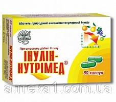 Инулин  (Нутримед капс. №60)-лечение сахарного диабета
