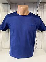 Футболка мужская RBS  стрейч коттон, однотонная 002 \ купить футболку мужскую оптом