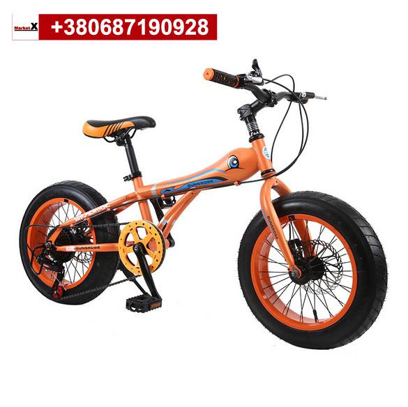 Детский горный велосипед 16 дюймов оранжевый