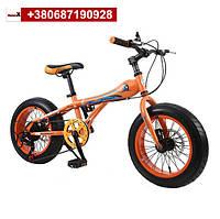 Детский горный велосипед 16 дюймов оранжевый, фото 1