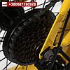 Желтый фэтбайк 16 дюймов детский горный велосипед со скоростями, фото 3