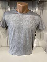 Футболка мужская RBS  стрейч коттон, однотонная 004 \ купить футболку мужскую оптом
