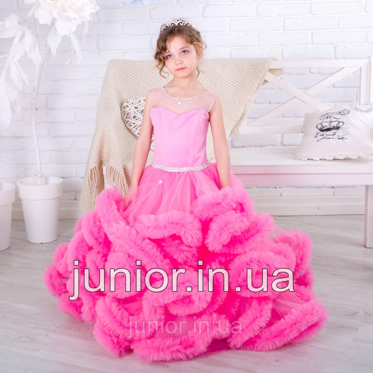 c57f614450f Нарядное бальное платье для девочки