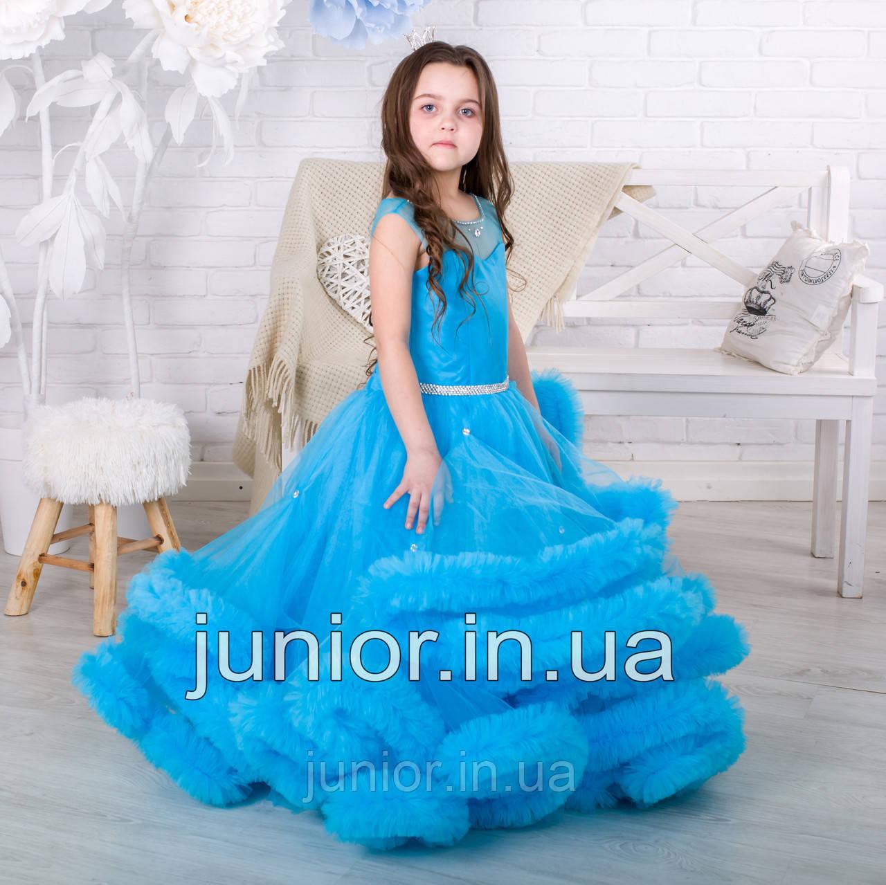 """Ошатне бальне плаття для дівчинки """"Хмара"""""""