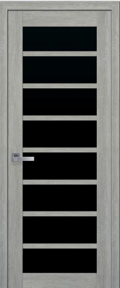 Межкомнатная дверь  с черным стеклом VIOLA