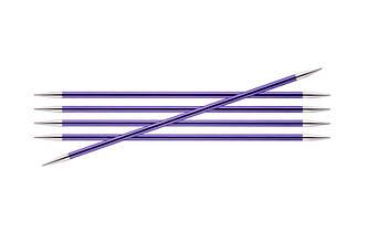 Спицы носочные  3.75 мм- 15 см Zing KnitPro