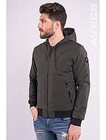 Ветровка куртка мужская хаки Avecs AV-70233 Khaki Размеры M/46 XL/50 2XL/52, фото 1