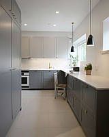Кухня в стиле современная классика бело спрый цвет
