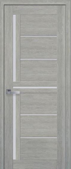 Межкомнатная дверь со стеклом сатин DIANA