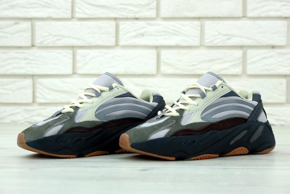 3c2454990 Мужские кроссовки Adidas Yeezy Boost 700 Mauve, адидас изи буст серые,  реплика