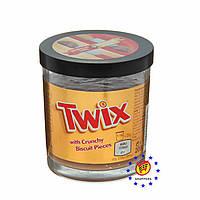 Крем шоколадно-карамельный с кусочками печенья Twix 200г